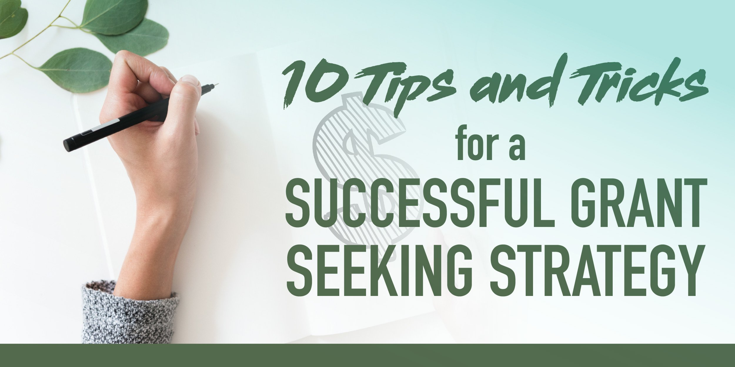 10 Tips and Tricks for Successful Grant Seeking Strategy-1