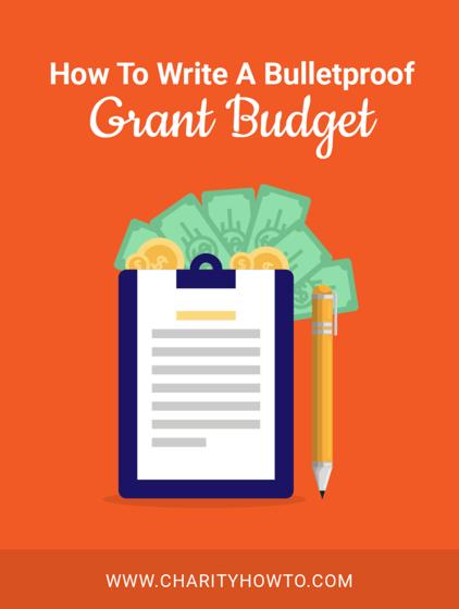 Nonprofit Grant Budget