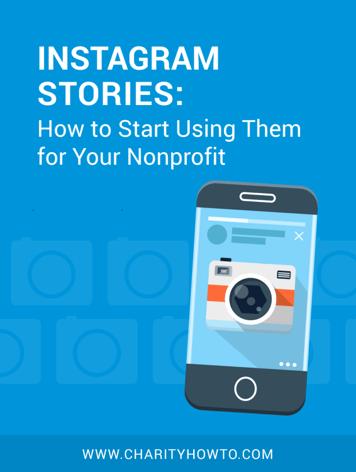 Instagram Stories Nonprofit