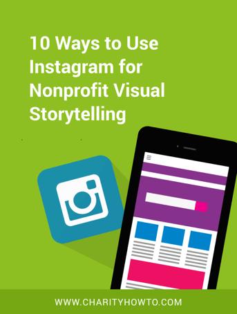 Instagram for Nonprofit Visual Storytelling