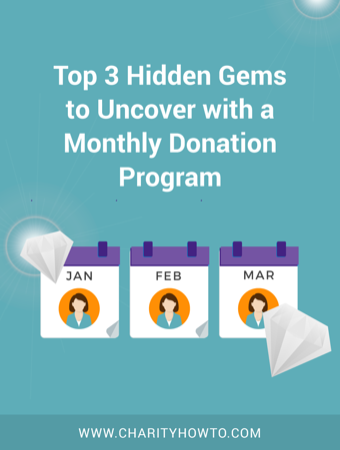 Monthly Donation Program