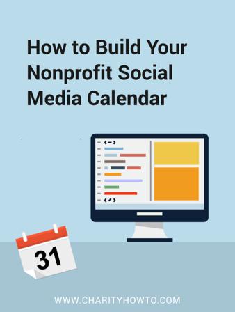 build your nonprofit social media calendar