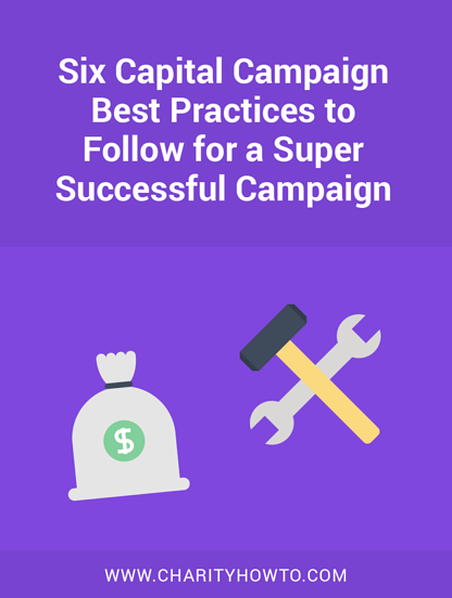 Capital Campaign Best Practices