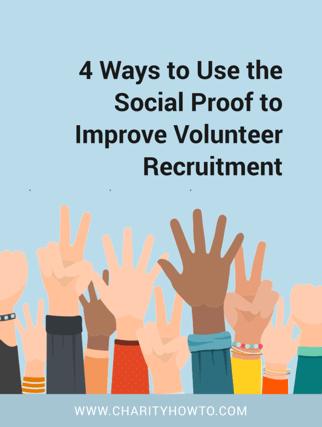 Social Proof for Volunteer Recruitment