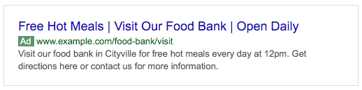 free hot meals from your food bank